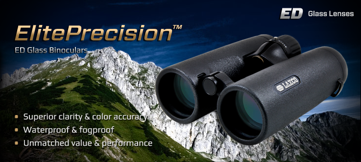 ElitePrecision™ Binoculars