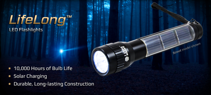 LifeLong™ LED Flashlights